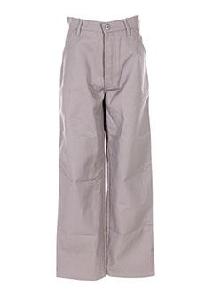 Pantalon casual gris HOMEBOY pour homme