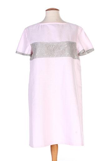 marie-lucie robes femme de couleur rose
