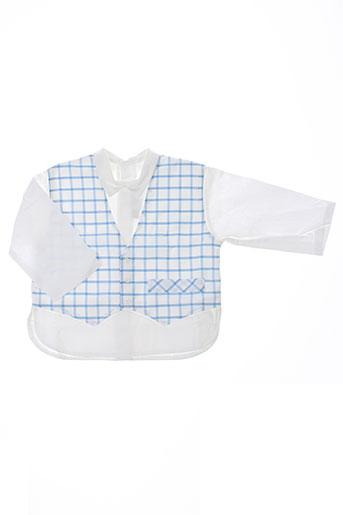 chez florence chemises garçon de couleur bleu