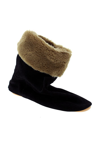 anniel boots femme de couleur noir