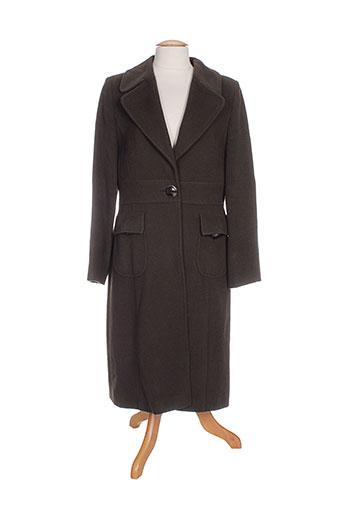 weill manteaux femme de couleur marron