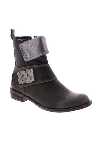 madison boots femme de couleur gris