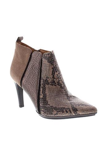 hispanitas boots femme de couleur marron