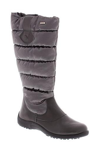 rohde bottes femme de couleur gris