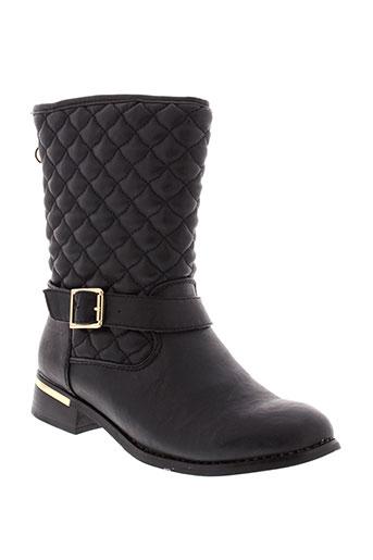 rieker boots femme de couleur noir
