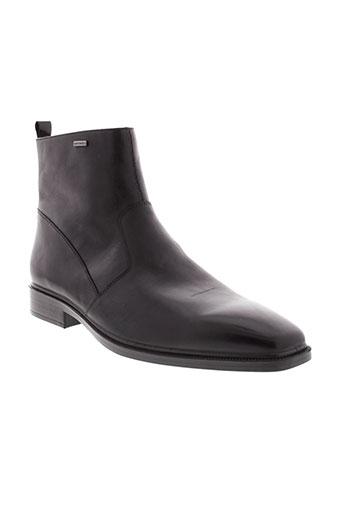 geox boots homme de couleur noir
