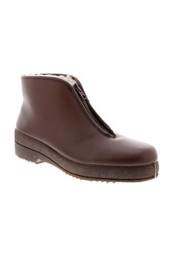 arima boots homme de couleur marron