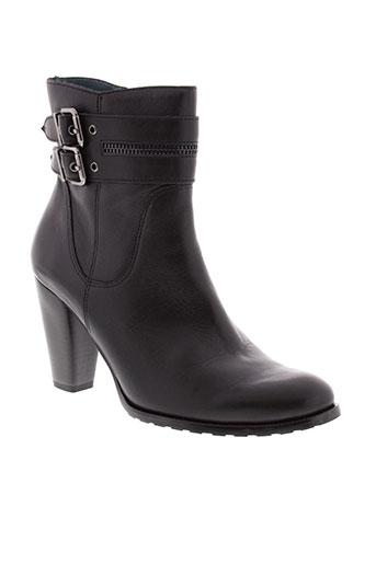 karston bottines femme de couleur noir
