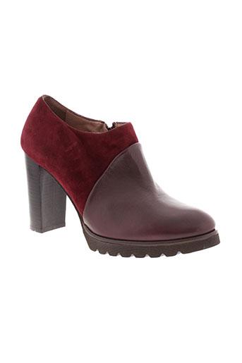 gadea boots femme de couleur rouge