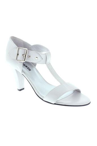 ohannes chaussures femme de couleur gris