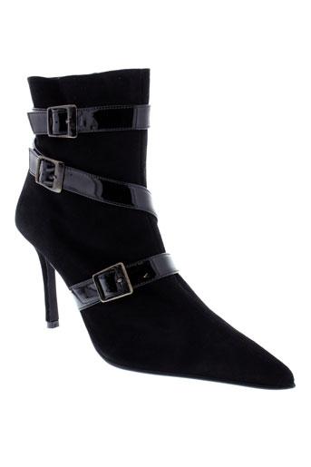 ohannes chaussures femme de couleur noir