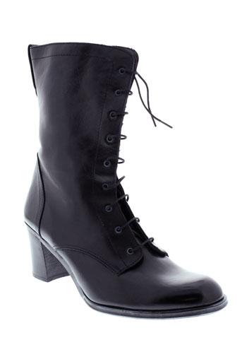 ohannes bottes femme de couleur noir