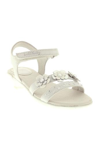 lelli et kelly sandales et nu et pieds fille de couleur blanc