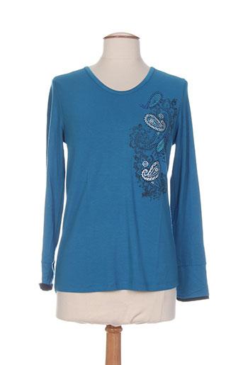 thalassa t et shirts et tops femme de couleur bleu