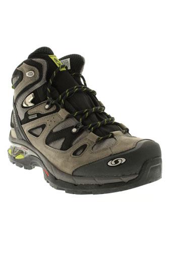 salomon boots homme de couleur gris