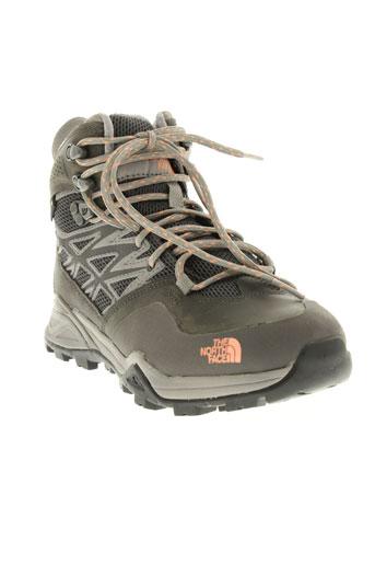 the et north et face boots femme de couleur gris