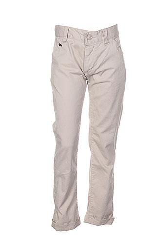 kaporal pantalons et decontractes garcon de couleur beige