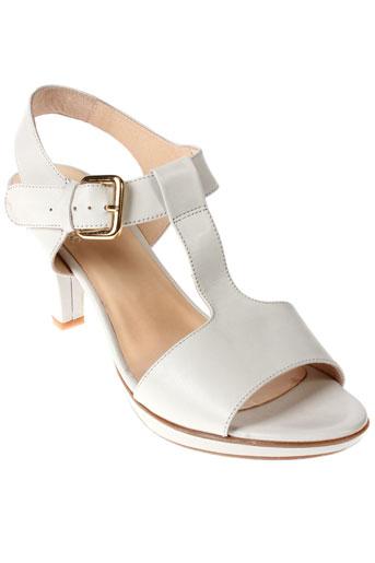 gadea sandales et nu et pieds femme de couleur blanc