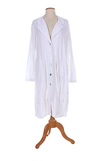 3322 manteaux femme de couleur blanc