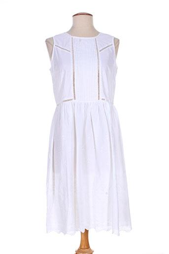 sinequanone robes femme de couleur blanc