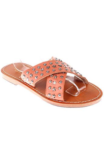 scotch et soda sandales et nu et pieds femme de couleur rose