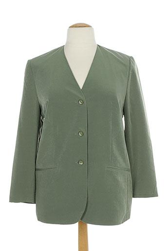 markwald vestes femme de couleur vert