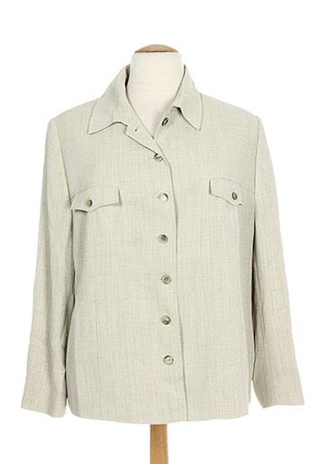 marcona vestes femme de couleur vert