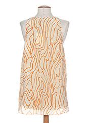 Top orange BY MALENE BIRGER pour femme seconde vue