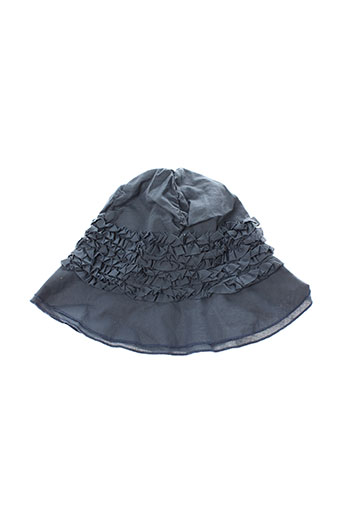 eliane et et et lena chapeaux et bonnets fille de couleur gris