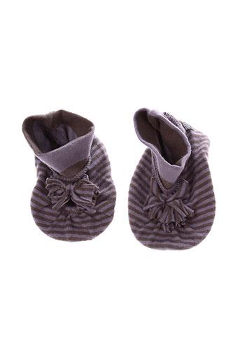 taille 0 chaussures fille de couleur violet