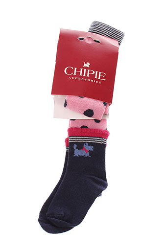 chipie collant fille de couleur rose