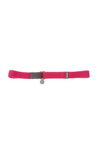 chipie ceintures fille de couleur rose
