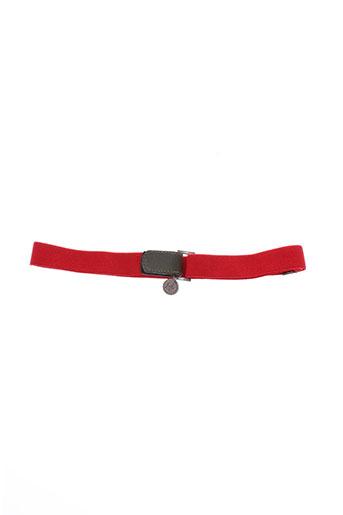 chipie ceintures fille de couleur rouge
