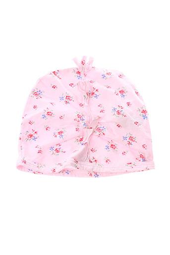 Bonnet rose TAILLE 0 pour fille
