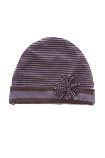 Bonnet violet TAILLE 0 pour fille