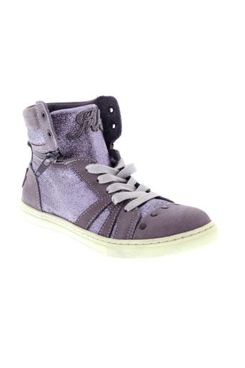 ikks chaussures fille de couleur violet