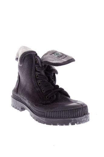 natural world chaussures garçon de couleur gris