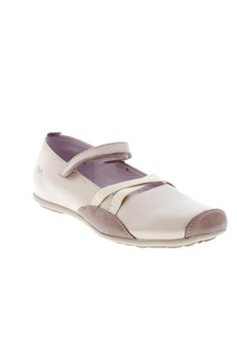 gbb chaussures fille de couleur beige