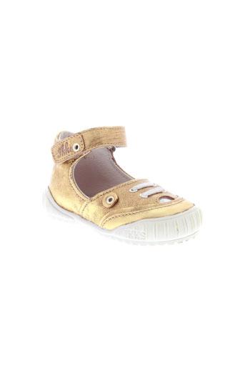 ikks chaussures fille de couleur jaune