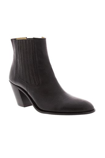free et lance boots femme de couleur noir