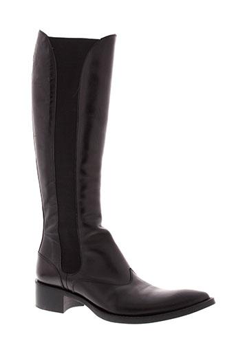 free et lance bottes femme de couleur noir