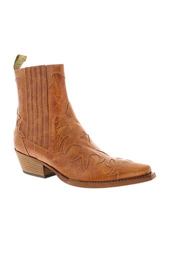 sartore boots femme de couleur marron