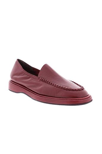 jean paul barriol chaussures femme de couleur rouge