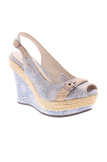 ugg chaussures femme de couleur bleu