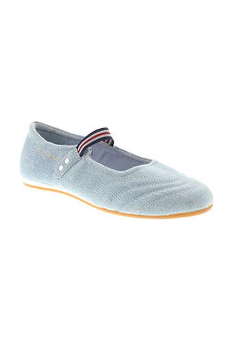 le coq sportif chaussures femme de couleur bleu
