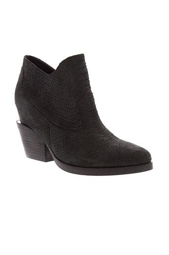 ash boots femme de couleur noir