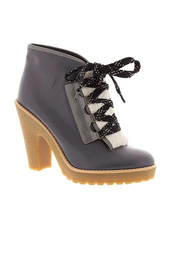 marc et jacobs boots femme de couleur gris