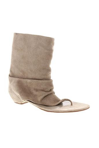 ash sandales et nu et pieds femme de couleur gris