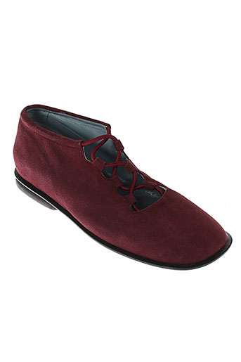 jean et paul et barriol ballerines femme de couleur rouge