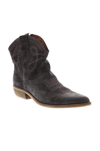 koah chaussures femme de couleur gris
